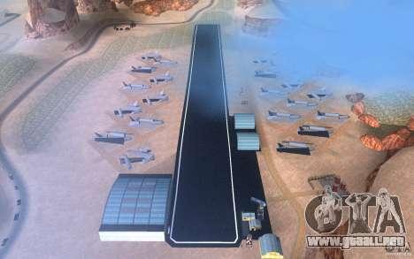 New Verdant Meadows Airstrip para GTA San Andreas
