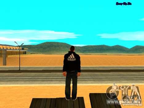 Nuevo skin para Gta San Andreas para GTA San Andreas sucesivamente de pantalla