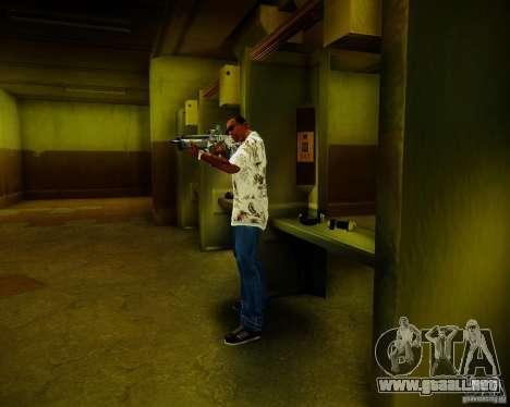 Tavor Tar-21 Digital para GTA San Andreas quinta pantalla