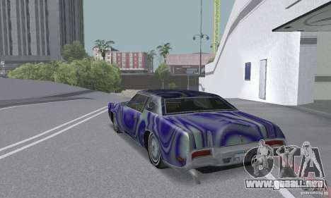 Lincoln Continental Mark IV 1972 para el motor de GTA San Andreas