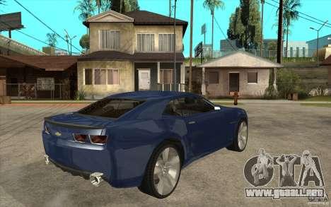 Chevrolet Camaro Concept Tunable para la visión correcta GTA San Andreas