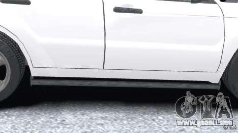 Subaru Forester v2.0 para GTA 4 ruedas