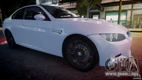 BMW M3 E92 2008 v.2.0 para GTA 4 vista lateral