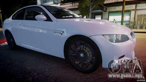 BMW M3 E92 2008 v.2.0 para GTA 4 vista lateral