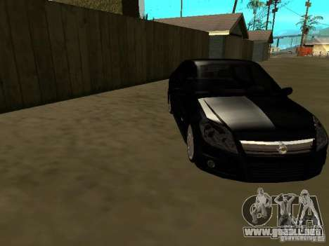 Chevrolet Vectra Elite 2.0 para GTA San Andreas vista hacia atrás