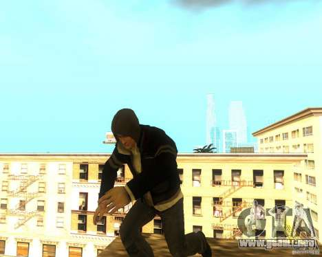 Alex Mercer ORIGINAL para GTA San Andreas segunda pantalla