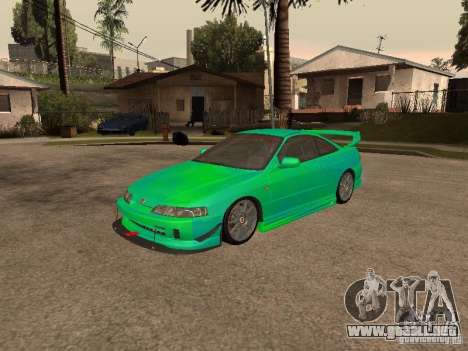 Honda Integra 2000 para GTA San Andreas interior