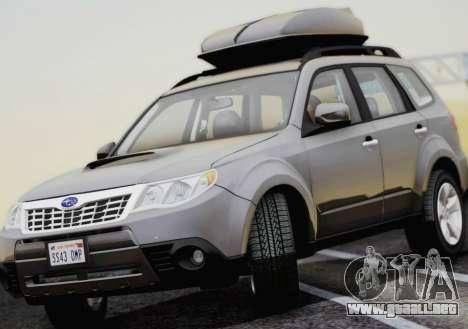 Subaru Forester XT 2008 para la visión correcta GTA San Andreas