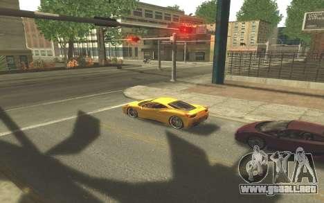 ENB v3.0 by Tinrion para GTA San Andreas quinta pantalla