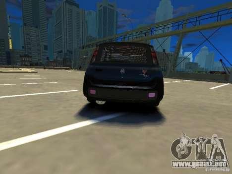 Fiat Novo Uno Sporting para GTA 4 Vista posterior izquierda