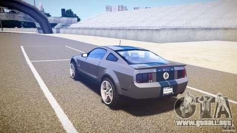 Shelby GT500kr para GTA 4 visión correcta