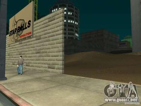 Nuevo hospital Hospital-nuevo para GTA San Andreas quinta pantalla