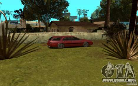 Coches deportivos cerca de Grove Street para GTA San Andreas quinta pantalla