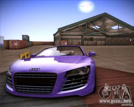 Audi R8 Shift para GTA San Andreas