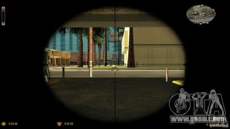 Cs 1.6 HUD v2 para GTA San Andreas segunda pantalla