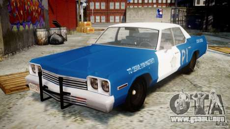 Dodge Monaco 1974 (bluesmobile) para GTA 4