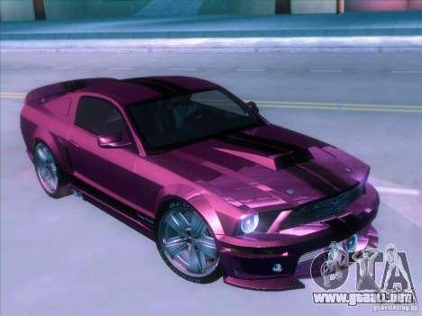 Ford Mustang Eleanor Prototype para la visión correcta GTA San Andreas