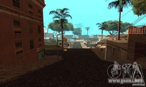 Grove Street para GTA San Andreas quinta pantalla