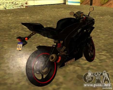 Yamaha YFZ R6 para GTA San Andreas left