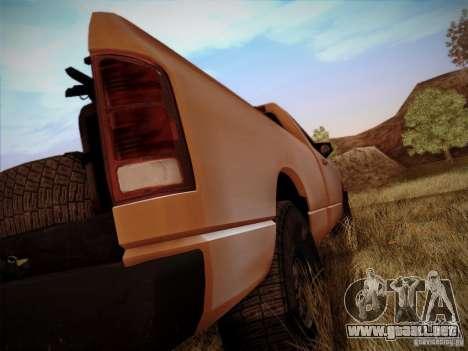Dodge Ram 1500 4x4 para visión interna GTA San Andreas