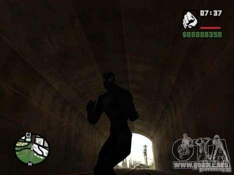 Enemigo del hombre araña en la reflexión para GTA San Andreas séptima pantalla