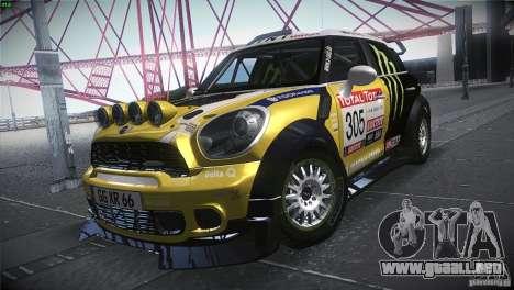 Mini Countryman WRC para GTA San Andreas