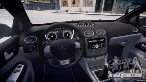 Ford Focus ST (X-tuning) para GTA 4 vista hacia atrás