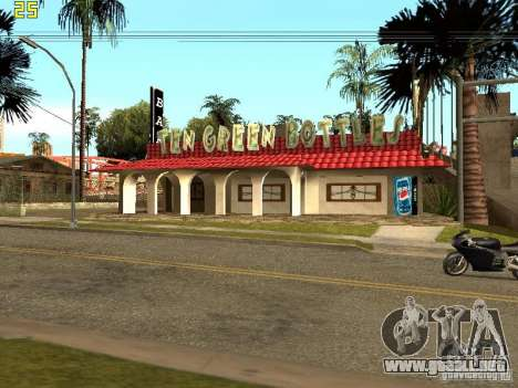 New Bar Ganton v.1.0 para GTA San Andreas