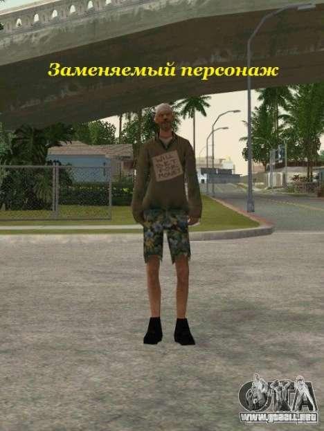Agrupación de mercenarios de un acosador para GTA San Andreas twelth pantalla