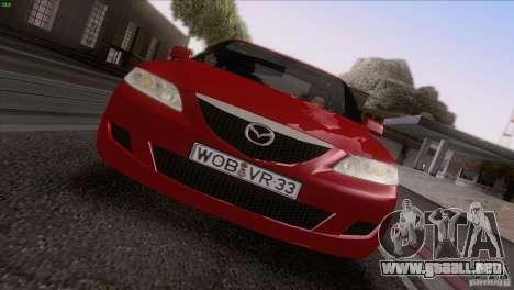 Mazda 6 2006 para la vista superior GTA San Andreas