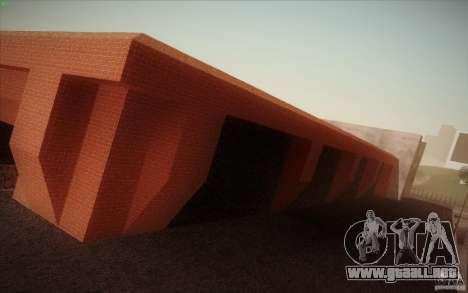 New SF Army Base v1.0 para GTA San Andreas tercera pantalla