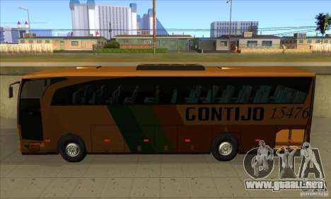 Mercedes-Benz Travego Gontijo para GTA San Andreas left