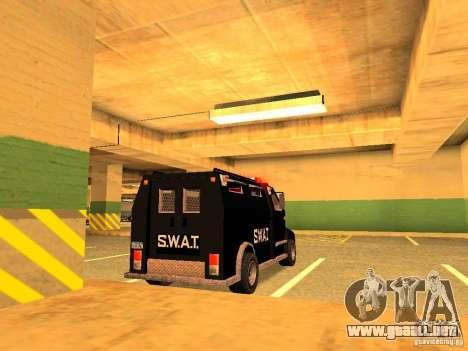 Swat III Securica para GTA San Andreas left