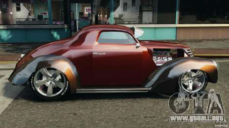 Walter Street Rod Custom Coupe para GTA 4 left