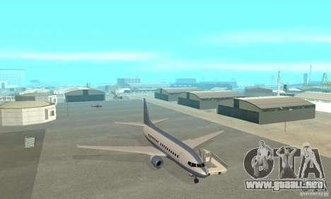 Airport Vehicle para GTA San Andreas undécima de pantalla