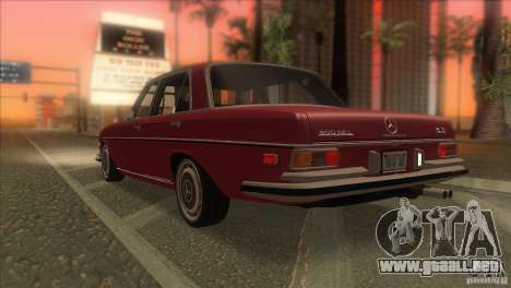 Mercedes-Benz 300 SEL para GTA San Andreas interior