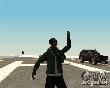 Animación diferente para GTA San Andreas séptima pantalla