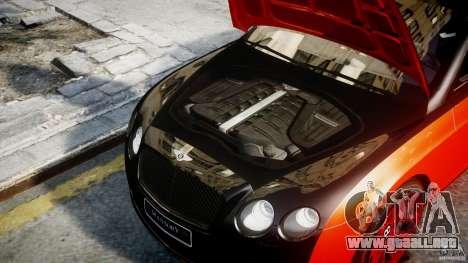Bentley Continental SS 2010 Le Mansory [EPM] para GTA 4 visión correcta