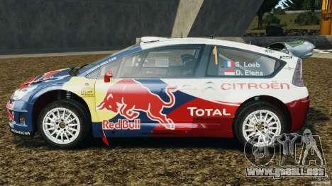 Citroen C4 WRC para GTA 4 left