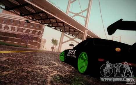New roads San Fierro para GTA San Andreas tercera pantalla
