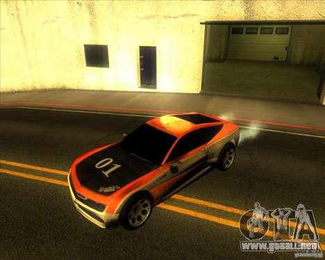 Exage para GTA San Andreas vista hacia atrás