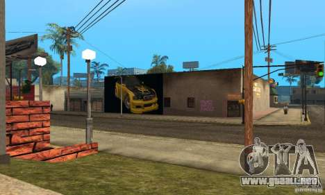 Grove Street 2013 v1 para GTA San Andreas tercera pantalla