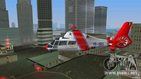 Eurocopter As-365N Dauphin II para GTA Vice City visión correcta