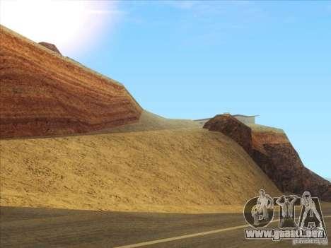 HQ Country Desert v1.3 para GTA San Andreas segunda pantalla