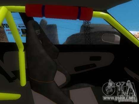 Nissan Silvia S13 Drift Style para vista inferior GTA San Andreas