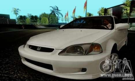 Honda Civic 1999 Si Coupe para GTA San Andreas