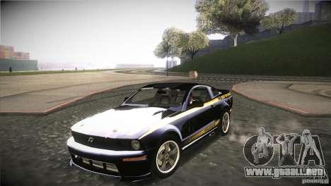 Shelby GT500 Terlingua para visión interna GTA San Andreas