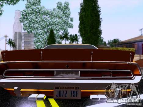 Dodge Challenger HEMI para GTA San Andreas left