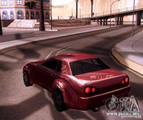 Elegy Wide Body para la visión correcta GTA San Andreas