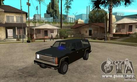 ELM v9 for GTA SA (Emergency Light Mod) para GTA San Andreas segunda pantalla